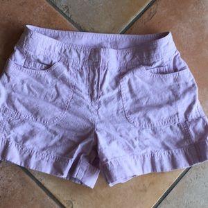 Ann Taylor Linen shorts 0